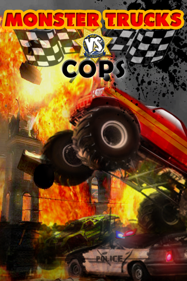 Screenshot Monster Trucks vs COPS