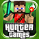Hunter Games - Mini Mine Survival Shooter Game in 3D Pixel Blocks logo